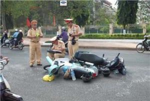 Biểu mẫu sử dụng trong công tác điều tra, xác minh, giải quyết tai nạn giao thông