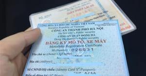 Cấp đổi, cấp lại giấy chứng nhận đăng ký xe, biển số xe
