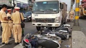 Thu thập tài liệu liên quan đến vụ tai nạn giao thông